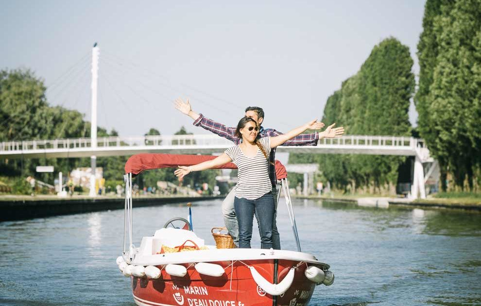 A 4 hour itinerary on the Marne River