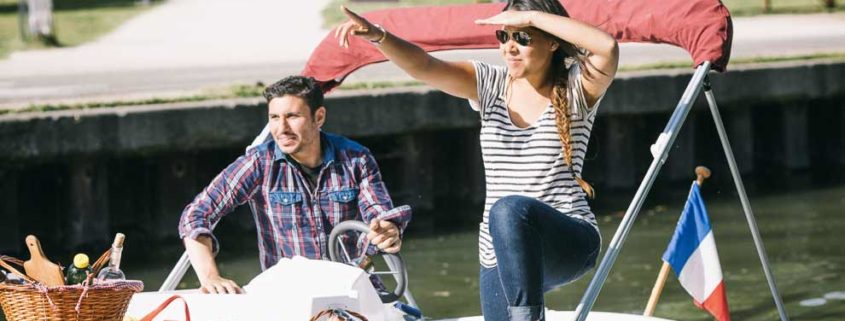 A picnic on board licence-free boats