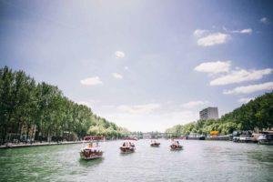 Book a boat in Paris