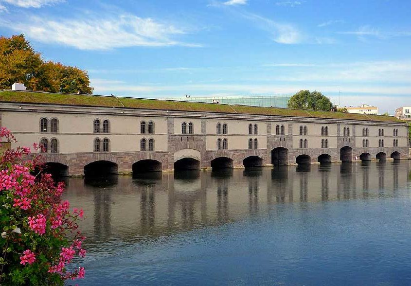 Discover the Vauban dam on another side