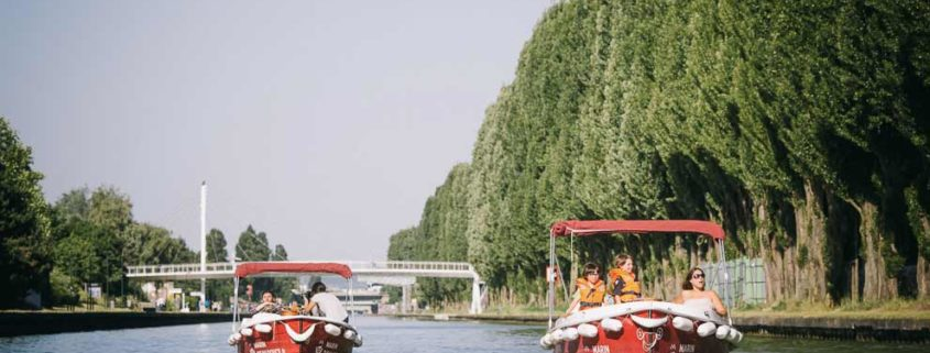 Environmentally friendly electric boats to sail on the Marne River
