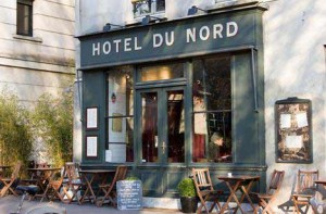 The Hotel du Nord on the canal Saint-Martin