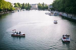 Itinerary Bassin de la Villette