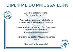 Moussaillon certificate