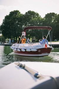 Navigation on the Canal de l'Ourcq