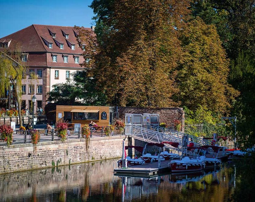 Our nautic base in Strasbourg
