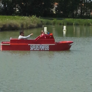 The fire boat