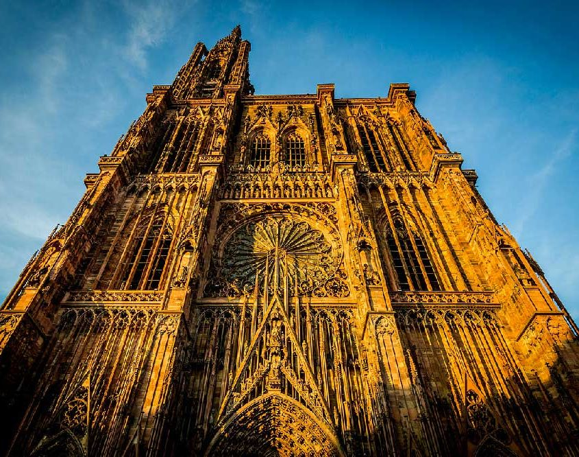 The gorgeous Cathedral of Strasbourg