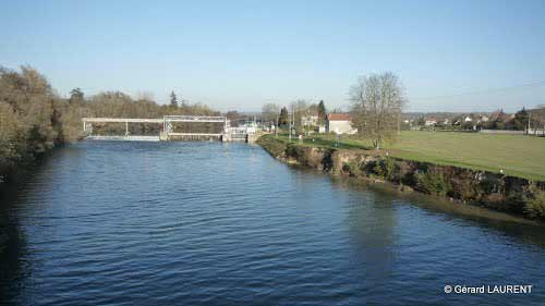 The lock at the isle « les Meldeuses »